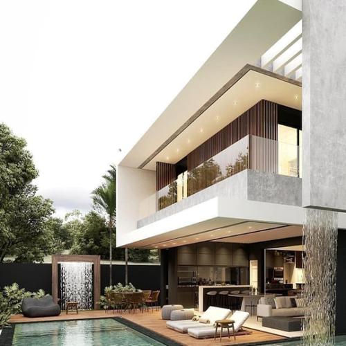 les villas blanches - modeles - saly - dakar - senegal